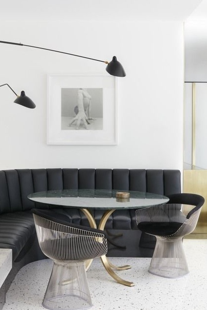 Ноу-хау для кухни: современные стильные кухонные уголки со спальным местом