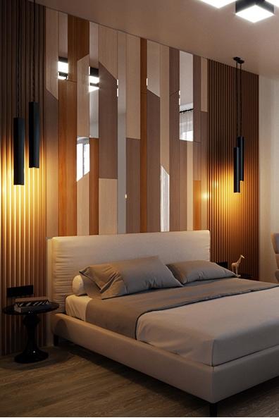 Ламинат в ванной и на стене в спальне - практично ли?