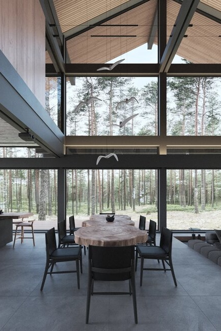 Панорамное остекление в фахверковых домах: развенчивание мифов и заблуждений