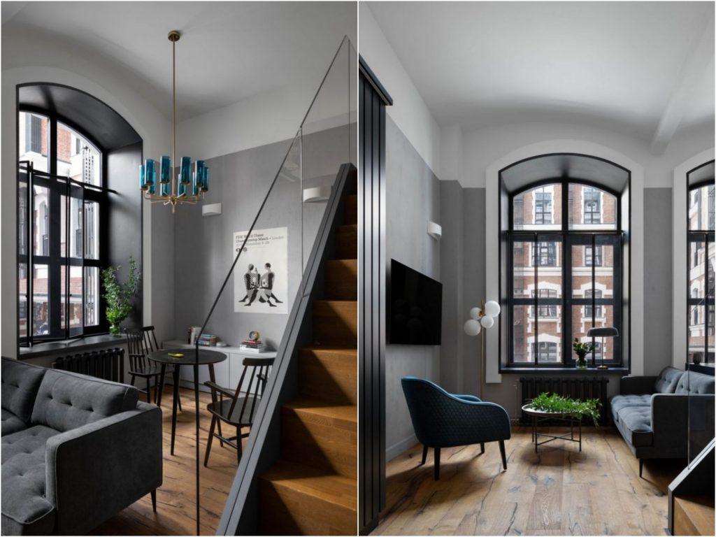 Второй уровень: примеры интерьеров маленьких квартир-студий с антресолью