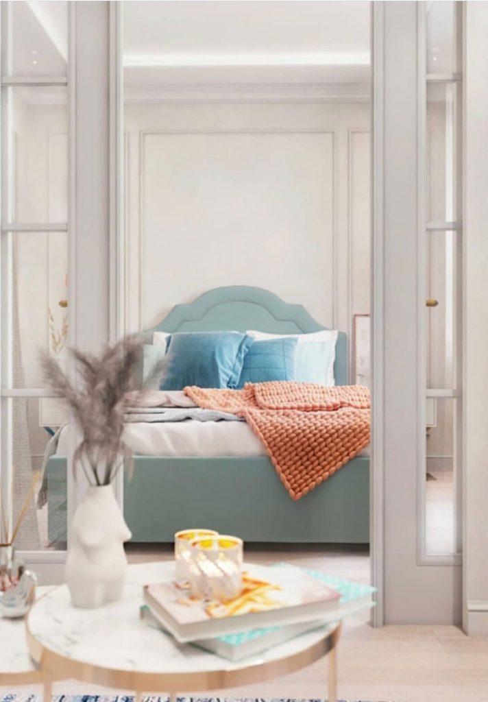 Современная классика: интерьер однокомнатной квартиры площадью 40 м², который хочется повторить
