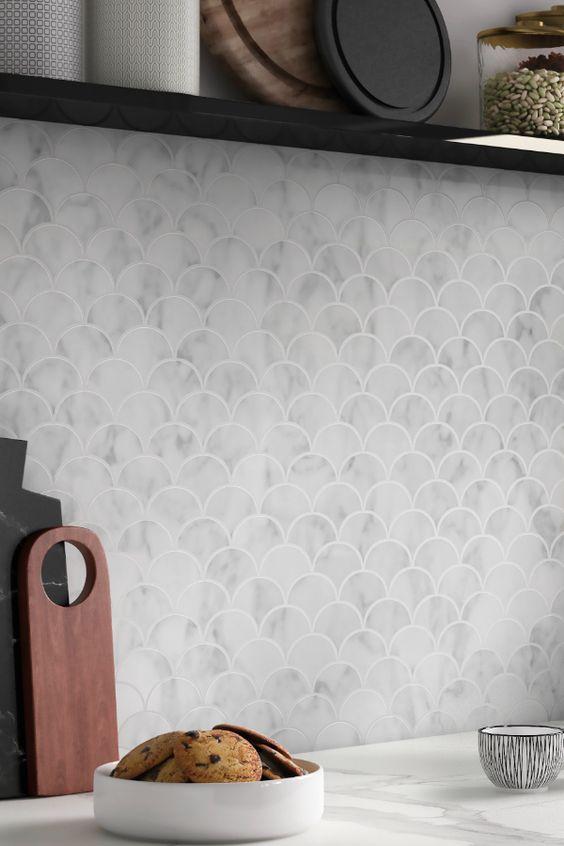 3 актуальных способа использовать белую плитку в интерьере